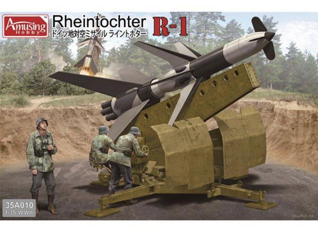 FlaRak Rheintochter R1  (Vista 1)
