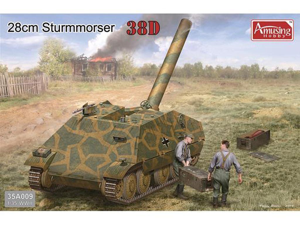 Sturmmorser 38D 28cm (Vista 1)
