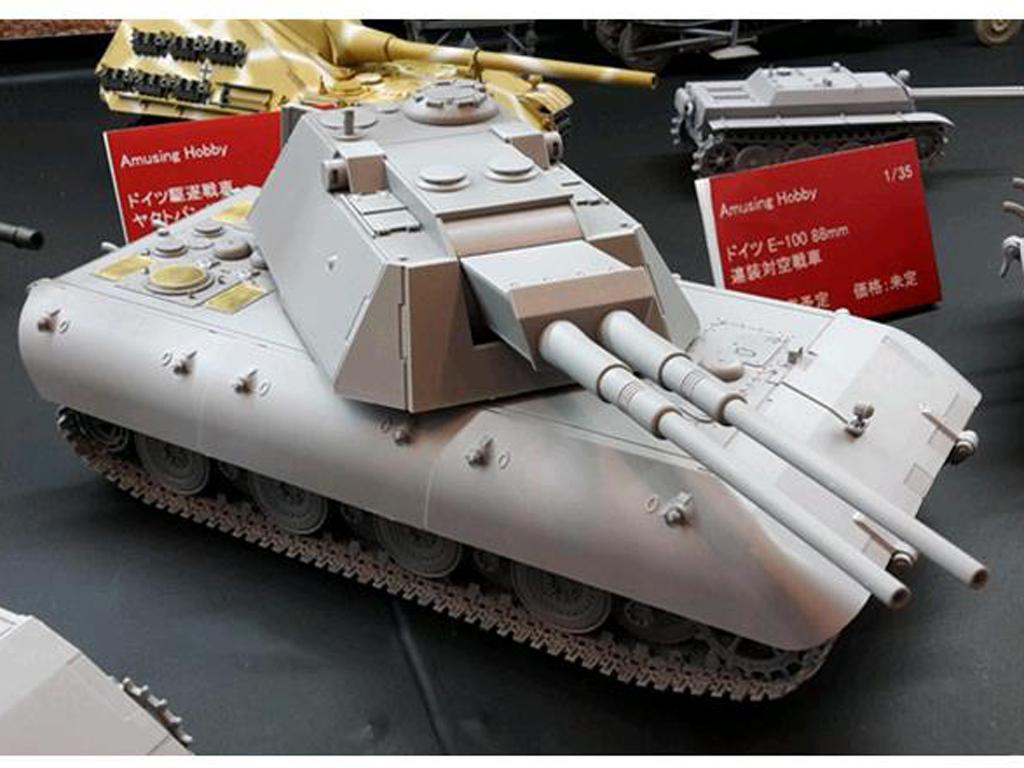 German 8,8cm Zwilling  Flakpanzer E100 (Vista 2)