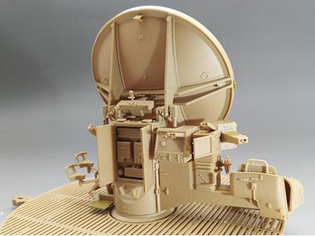 12,8cm Flak40 con FuMG 39D (Vista 2)