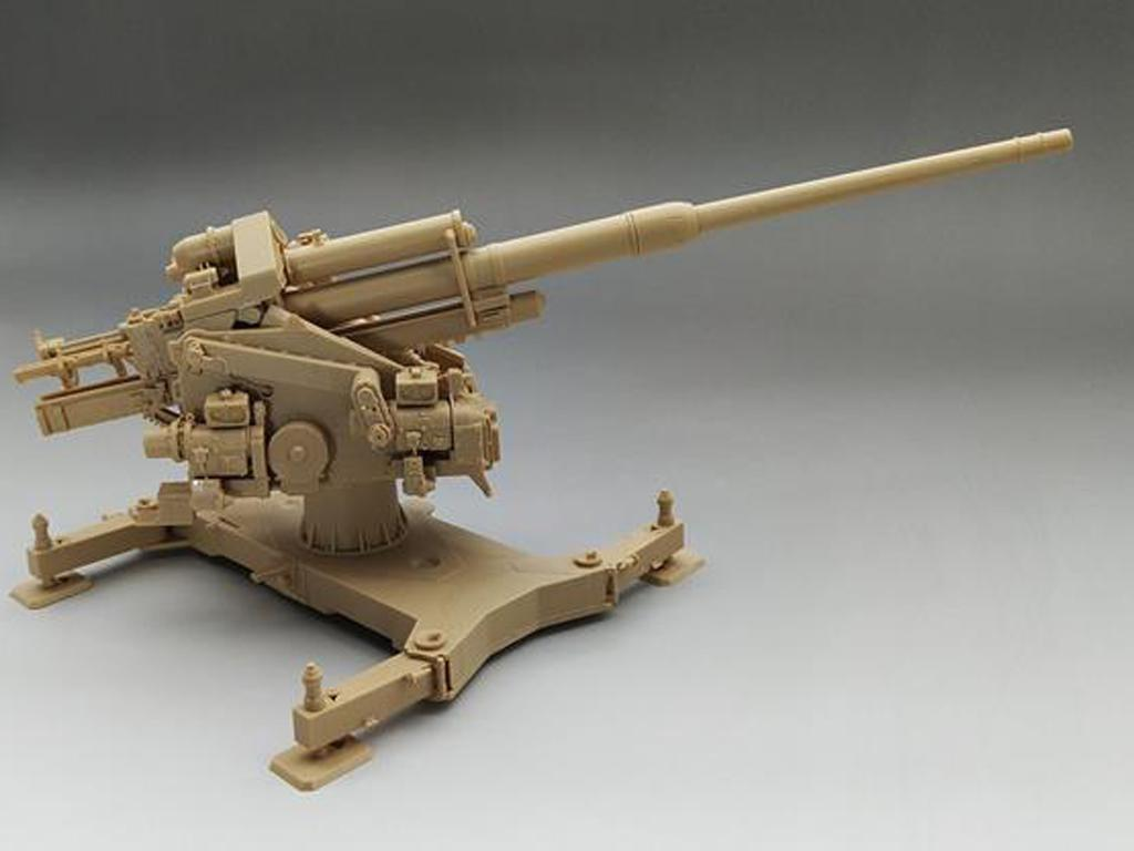 12,8cm Flak40 con FuMG 39D (Vista 3)