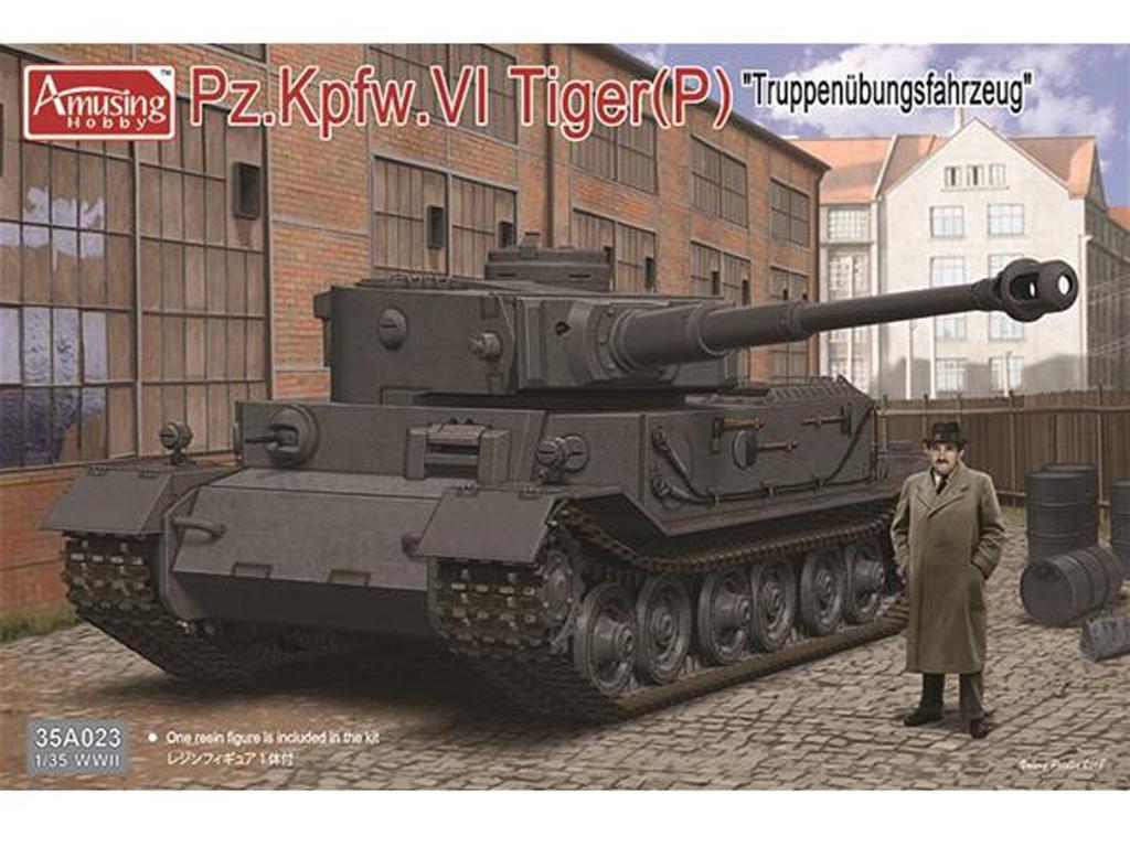 Pz.Kpfwg.VI Tiger(P) Truppenübfahrzeug (Vista 1)