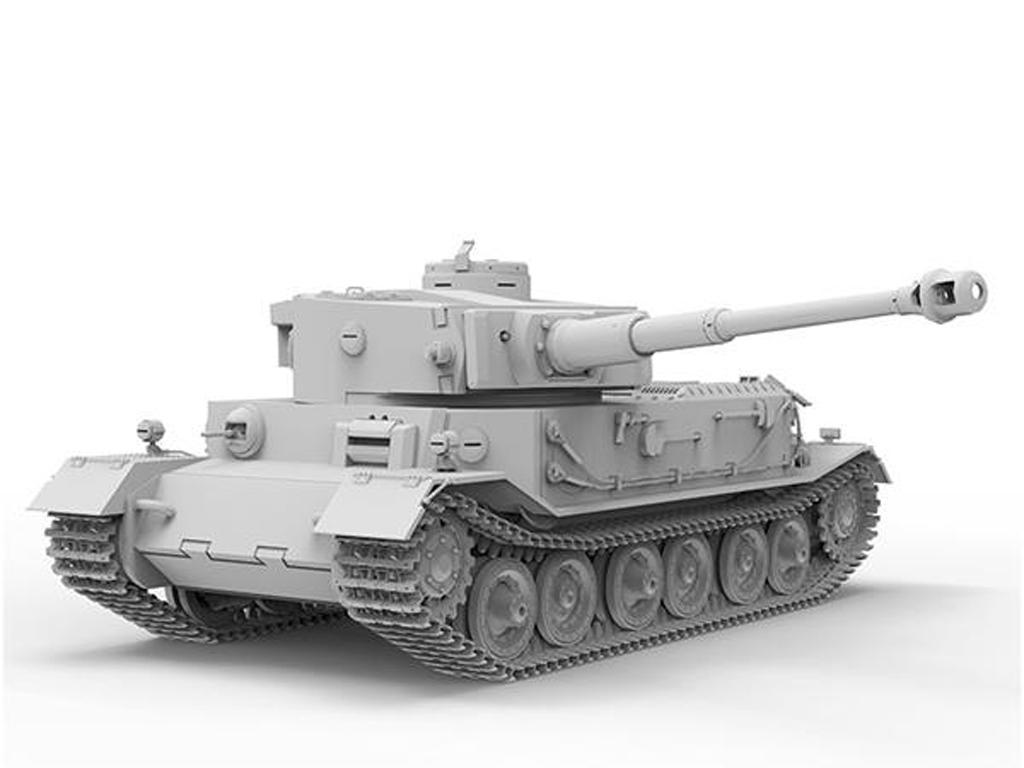 Pz.Kpfwg.VI Tiger(P) Truppenübfahrzeug (Vista 4)