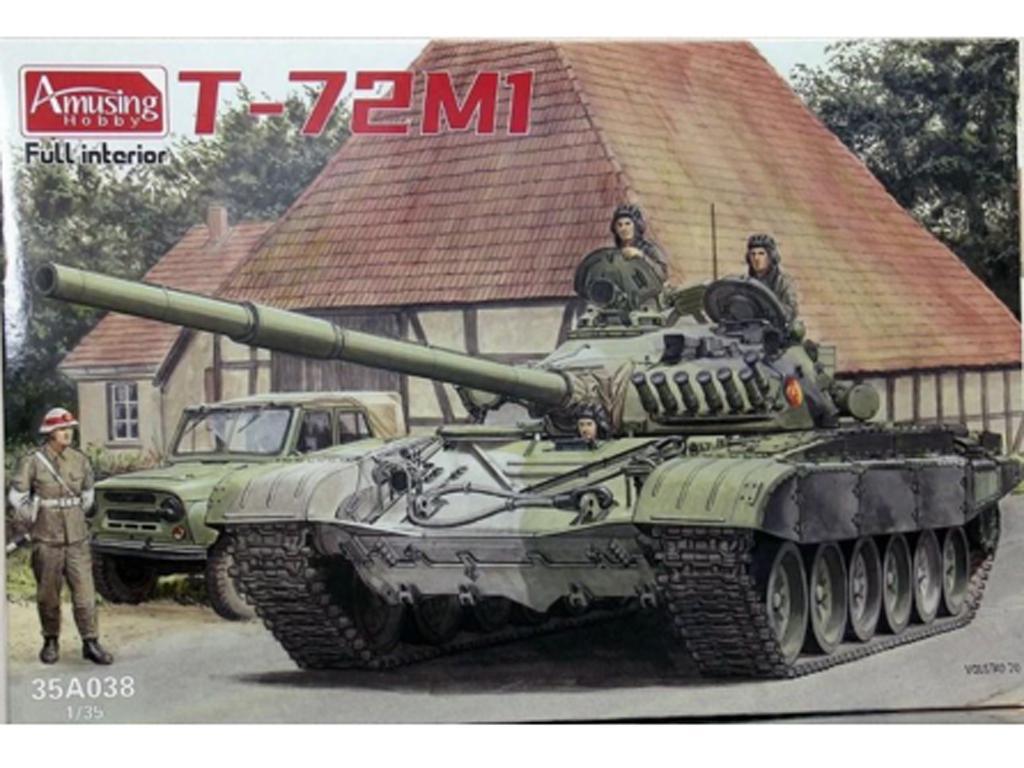 T-72M / M1 (Vista 1)