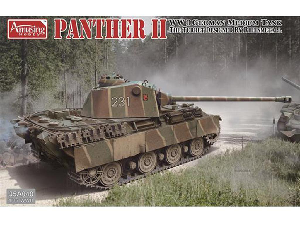 Panther II Rheinmetall turret (Vista 1)