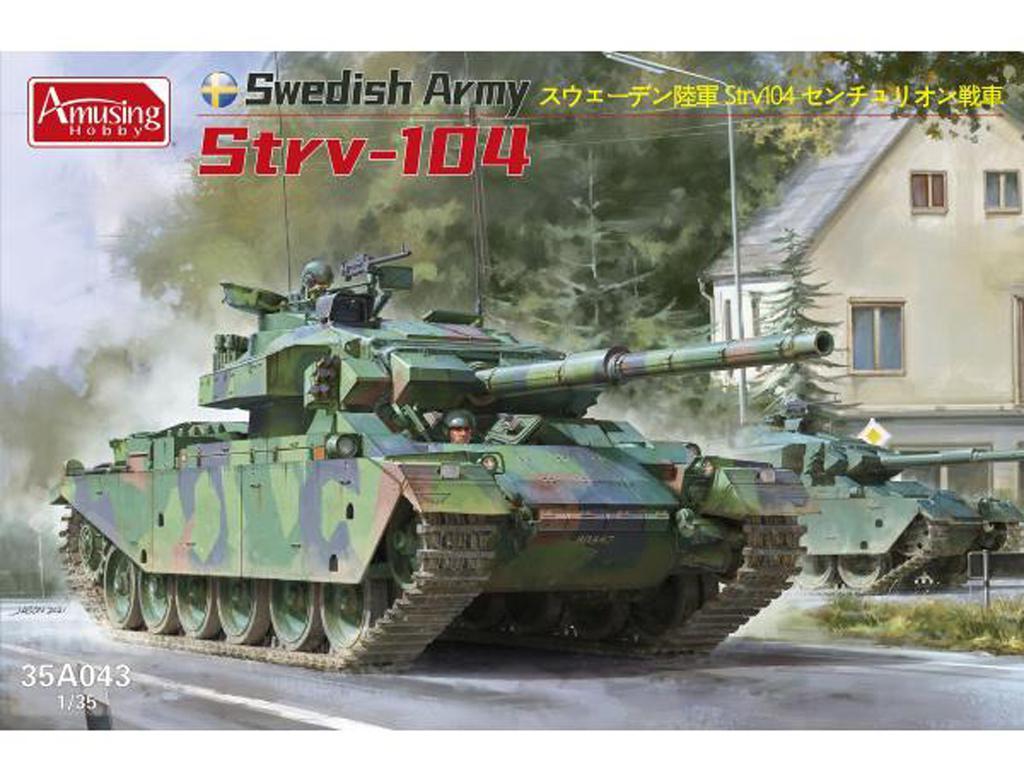 Ejército Sueco Strv-104 (Vista 1)