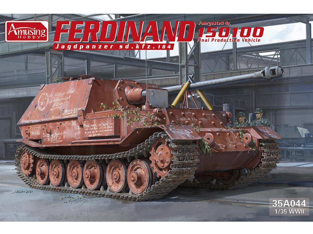 Ferdinand Jagdpanzer Sd.kfz.184 No 15100 (Vista 1)
