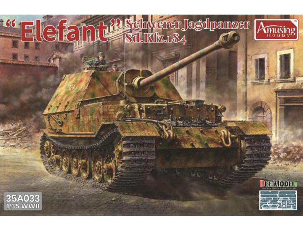 Schwerer Jagdpanzer Elefant Sd.Kfz.184 (Vista 1)