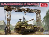 SD.Kfz.184 Ferdinand & 16t Strabokran (Vista 8)