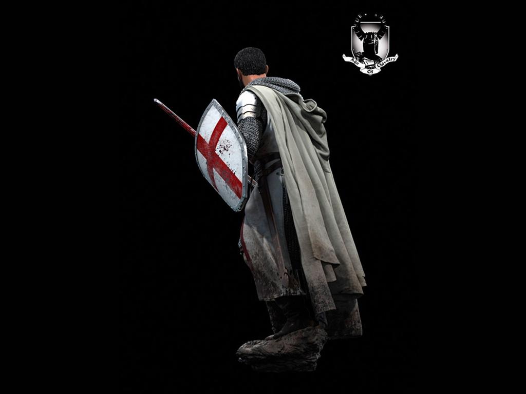 Caballero Templario, Siglo XII  (Vista 6)