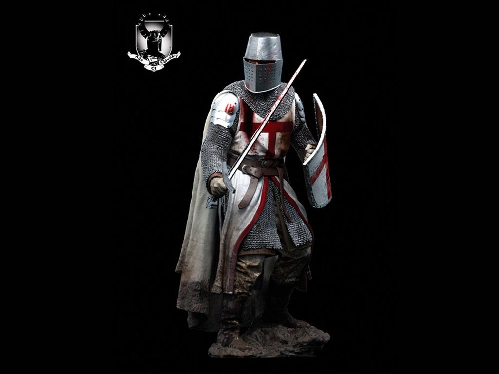 Caballero Templario, Siglo XII - Ref.: ANDR-AC24F01