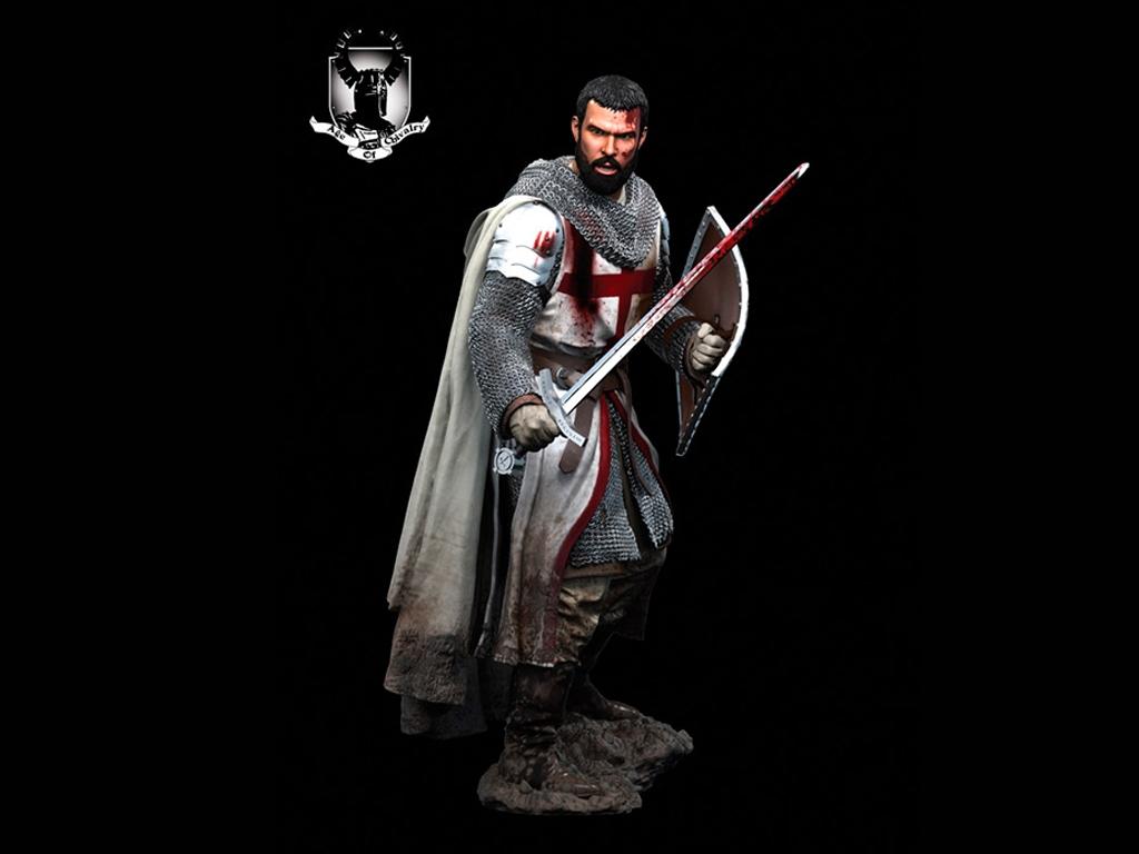Caballero Templario, Siglo XII  (Vista 8)