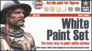 Set Pintura Blanco - Ref.: ANDR-ACS003