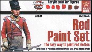 Equipo de Pintura Rojo - Ref.: ANDR-ACS004