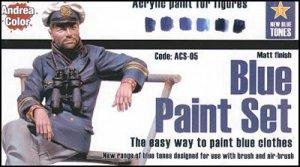 Equipo de Pintura Azul - Ref.: ANDR-ACS005