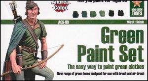 Set pintura Verde  (Vista 1)