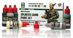 Set de Pintura Splinter Camo  (Vista 1)