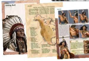 Pintando Indios - Ref.: ANDR-AP025E