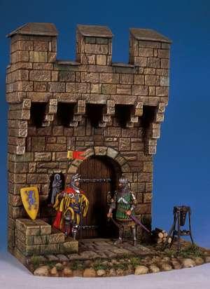 Sección de Castillo Medieval  (Vista 1)