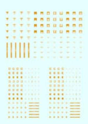 Transferibles Emblemas Uniforme Aleman 2  (Vista 1)