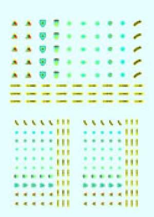 Transferibles Emblemas Uniforme American  (Vista 1)