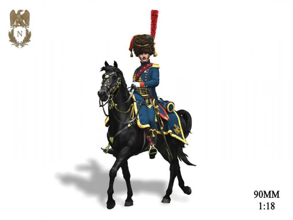 Oficial de Artillería  Guardia Imperial  (Vista 1)