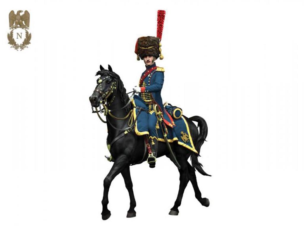 Oficial de Artillería  Guardia Imperial  (Vista 2)