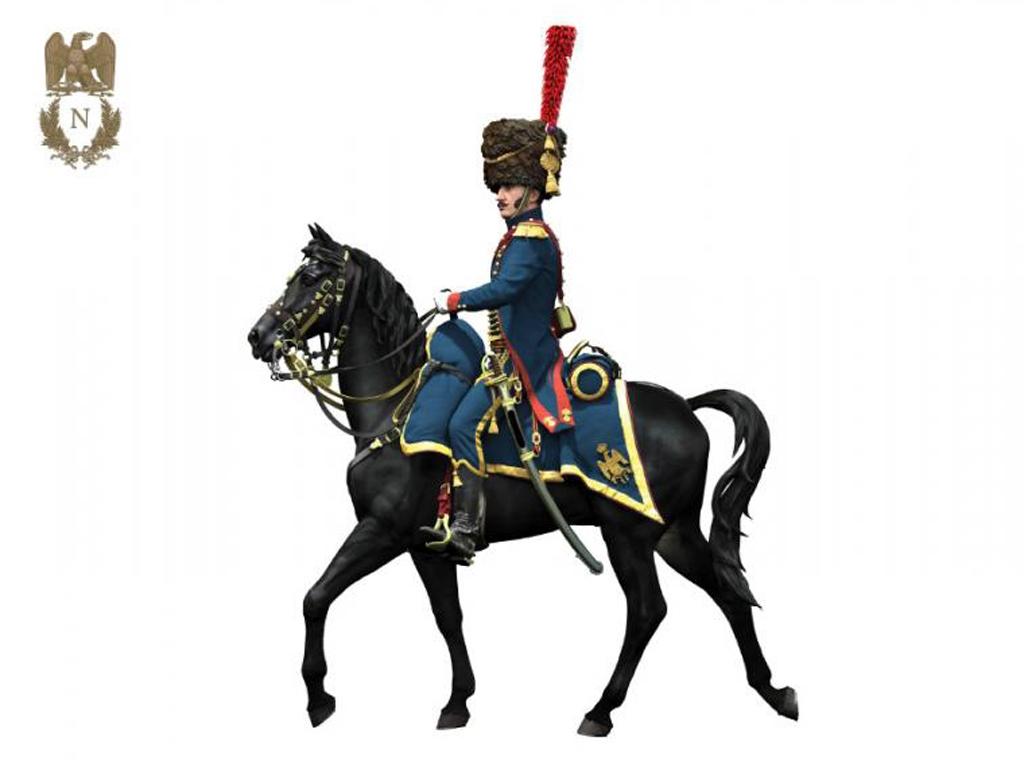 Oficial de Artillería  Guardia Imperial  (Vista 3)
