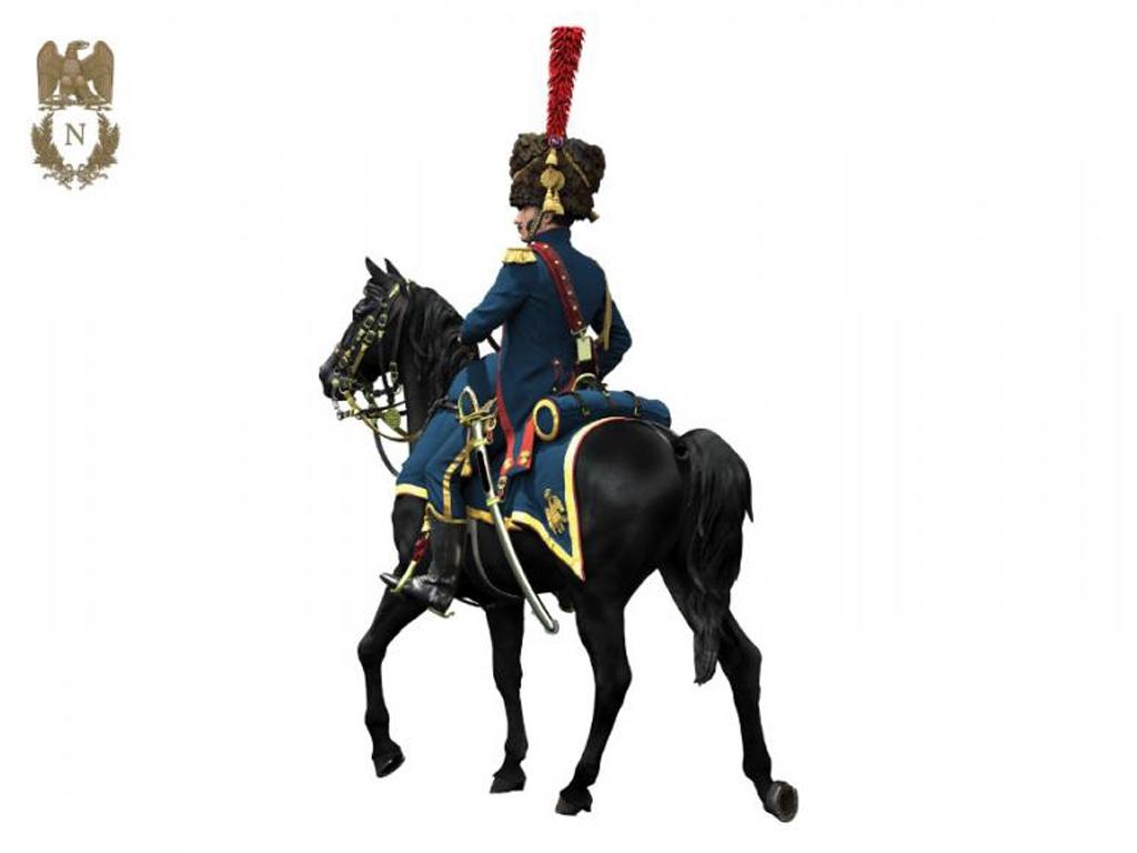 Oficial de Artillería  Guardia Imperial  (Vista 4)