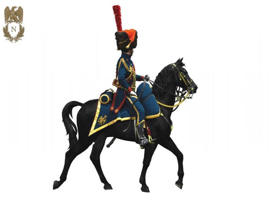 Oficial de Artillería  Guardia Imperial  (Vista 7)