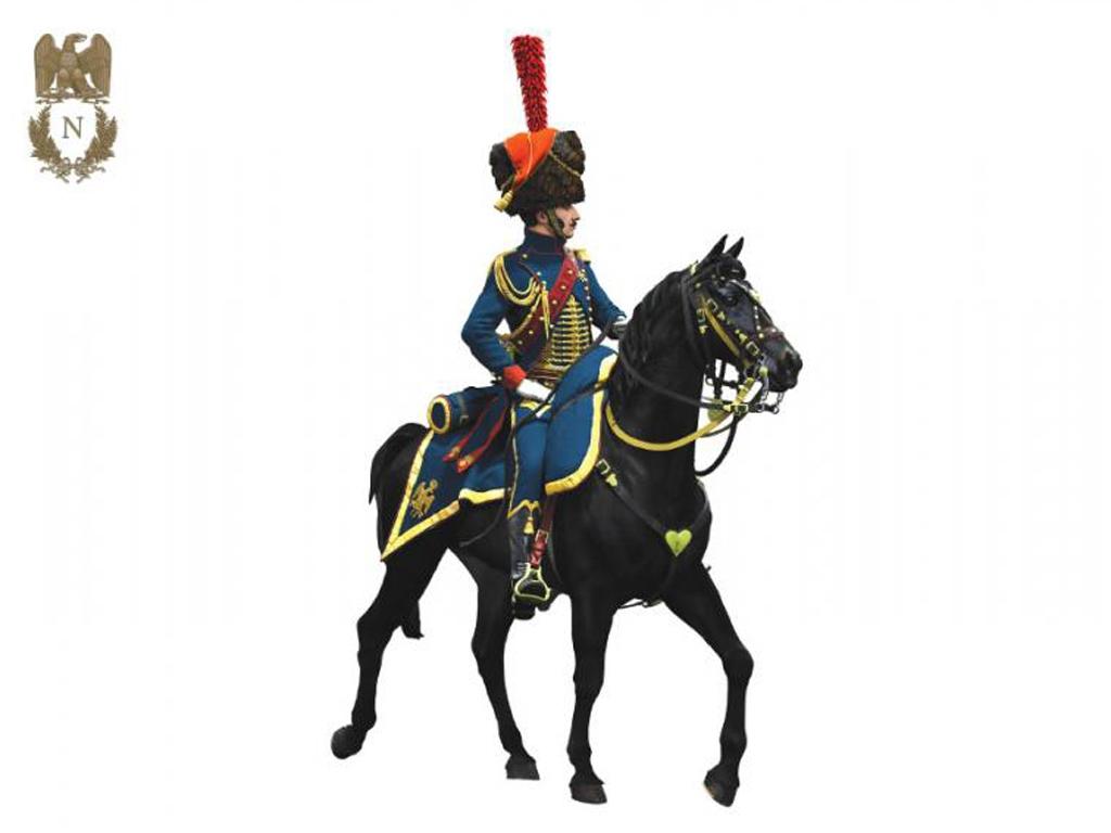 Oficial de Artillería  Guardia Imperial  (Vista 8)
