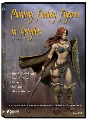 Pintura Figuras Fantasia con Acrilicos  (Vista 1)