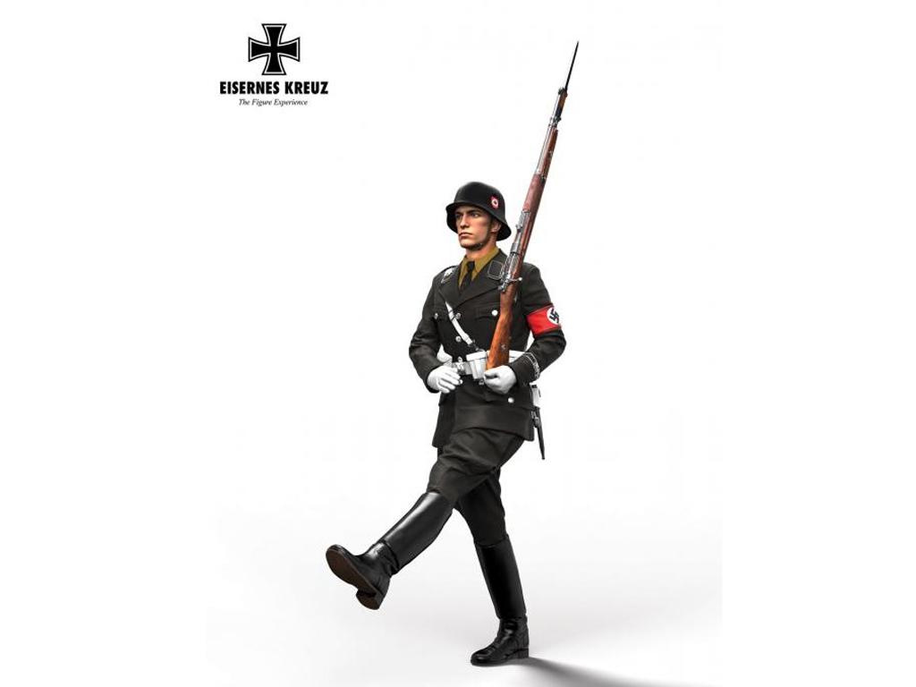 Soldat im Stechschritt LAH, 1939  (Vista 1)