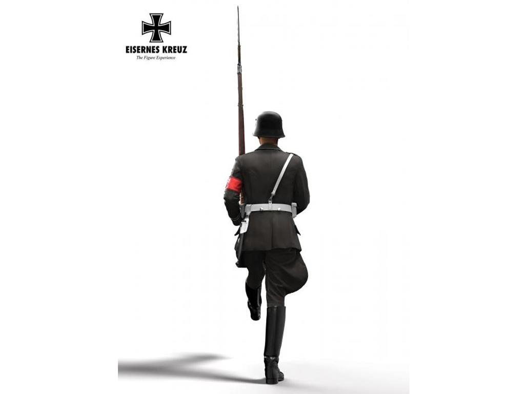 Soldat im Stechschritt LAH, 1939  (Vista 3)
