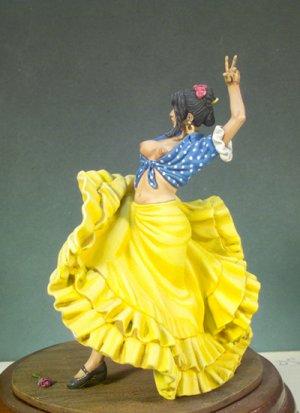 Bailadora Española  (Vista 2)