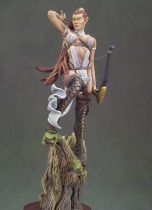 Arquera elfa  (Vista 2)