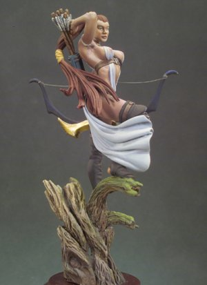 Arquera elfa  (Vista 4)