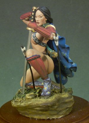 Chica samurai - Ref.: ANDR-G040