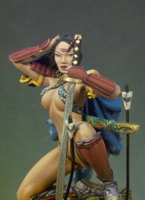 Chica samurai  (Vista 4)