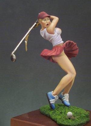 Chica Golfista  (Vista 3)