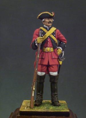 Caballería de Línea Reg. España 1760  (Vista 1)