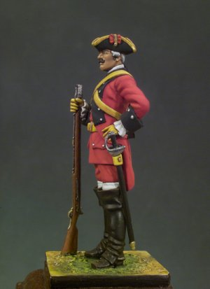 Caballería de Línea Reg. España 1760  (Vista 2)