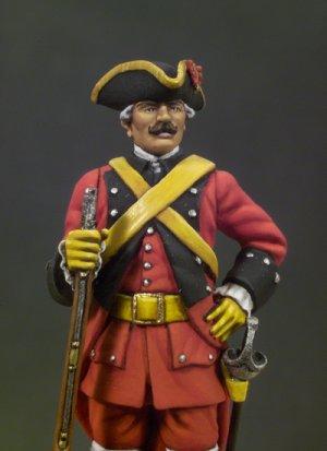 Caballería de Línea Reg. España 1760  (Vista 4)
