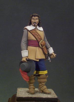 Capitán infantería Flandes 1598-1621  (Vista 1)