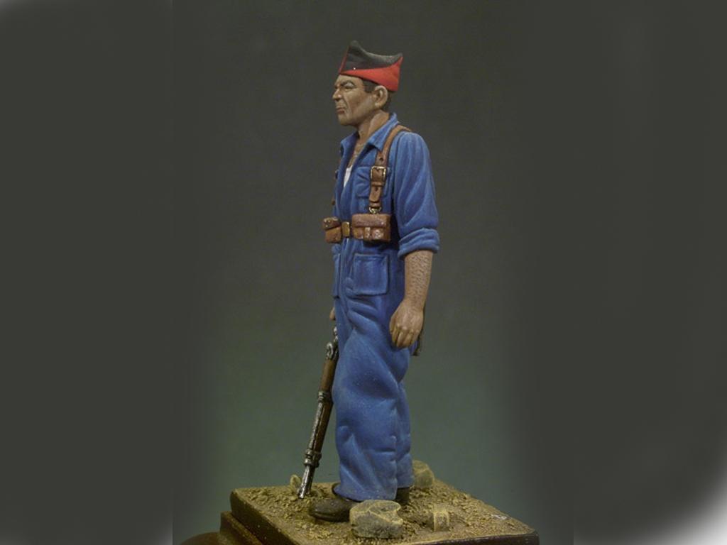 Miliciano, 1936  (Vista 3)