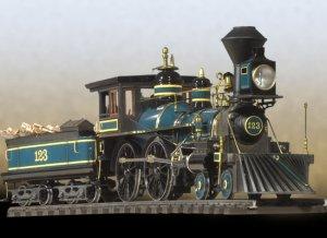 American 440 Locomotive  (Vista 1)