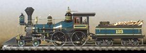 American 440 Locomotive  (Vista 2)