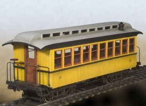 Wild West Passenger Car  (Vista 1)