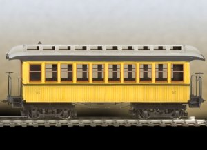Wild West Passenger Car  (Vista 2)