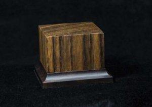Peana de madera noble Ovangkol  (Vista 1)